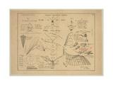 Tableau Explicatif General, Les Effets Du Vol Aerien Actif Giclee Print