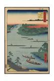 Nakagawa River Mouth Giclee Print
