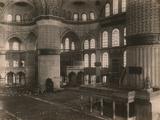 Interior View of the Sultanahmet Camii Photographic Print