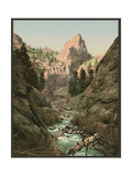 In South Cheyenne Canyon, Colorado Giclee Print