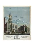 Masonic Hall Chestnut St. Phila Giclee Print