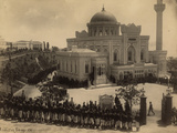 The Selamlik (Sultan's Procession to the Mosque) at the Hamiidiye Camii (Mosque) on Friday Photographic Print