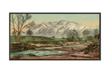 Cheyenne Mountain, Colorado Giclee Print