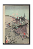 Our Army's Great Victory at Pyongyang Castle Giclee Print