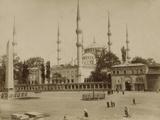 Mosque Du Sultan Ahmed Photographic Print