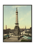 Army and Navy Monument, Indianapolis, Ind. Giclee Print