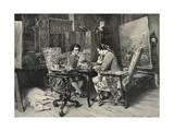 A Game of Chess Giclee Print