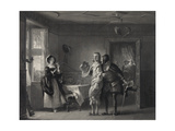 Anne Page, Slender and Shallow, a Scene from the Merry Wives Giclee Print
