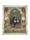 George Washington as a Freemason Giclee Print