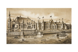 Pittsburgh Exposition Supplement Giclee Print