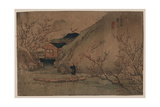 Peach Orchard at Wuling Giclee Print