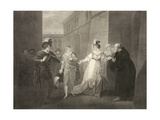 Shakespeare, Twelfth Night, Act V, Scene I Giclee Print