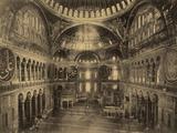 Interior of Ayasofya Mosque Photographic Print