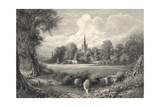 Stratford on Avon, the Birth-Place of Shakespeare Giclee Print