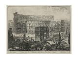 Veduta Dell' Arco Di Costantino, E Dell' Anfiteatro Flavio Detto il Colosseo Giclee Print