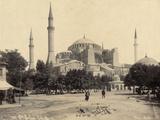 Exterior View of Ayasofya Mosque Photographic Print