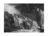 Shakspeare - Tempest, Act 1, Scene 1 Giclee Print