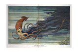 The Giant Squid at Bay Giclee Print