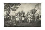 Surrender of General Burgoyne at Saratoga N.Y. Oct. 17th. 1777 Giclee Print