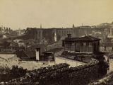 Vue Generale de L'Aqueduc de Valens Photographic Print