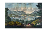View on the Hudson - West Point Giclee Print
