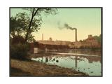 Wisconsin. Appleton Paper Mills Giclee Print