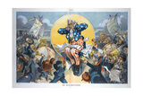 The Rival Salvationists Giclee Print