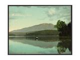 Mt. Ampersand from Round Lake, Adirondack Mountains Giclee Print