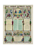 Holy Roman Catholic Faith Giclee Print