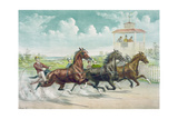 Pacing for a Grand Purse Giclee Print