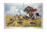 The Master of the Hounds Giclee Print