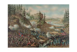 Battle of Chattanooga, American Civil War Giclee Print