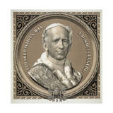 Leo XIII Pontifex Max. A.D. MDCCCLXXVIII Giclee Print