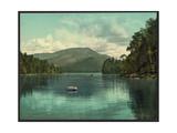Blue Mountain from Eagle Lake, Adirondack Mountains Giclée-Druck