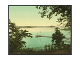Saratoga Lake, New York Giclee Print