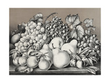 Golden Fruits of California Giclee Print