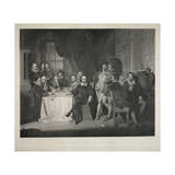 Shakspeare and His Friends Giclee Print