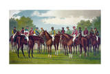 Celebrated Winning Horses and Jockeys of the American Turf Giclee Print