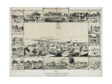 No. 2. View of Honolulu from the Catholic Church Giclee Print