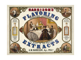 Harrison's Flavoring Extracts Giclee Print