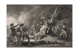 Death of General Montgomery Giclee Print