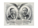 Republican Candidates for President, Theo. Roosevelt, for Vice President, Chas. W. Fairbanks Giclee Print