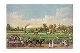 A Cotton Plantation on the Mississippi Giclee Print