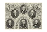 The Presidents of the United States, Liberty and Union Giclee Print