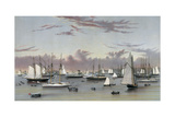 The Yacht Squadron at Newport Giclee Print