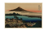 Pictorial Envelope for Hokusai's 36 Views of Mount Fuji Series Giclee Print