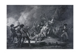 The Path to Liberty. Death of Gen. Montgomery Dec. 31st 1775 Giclee Print
