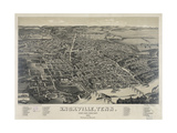 Knoxville, Tenn., County Seat of Knox County, 1886 Giclee Print