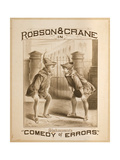 Robson and Crane in Shakespeare's Comedy of Errors Giclee Print