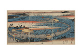 A Complete View of the Plum Estate, Kameido Giclee Print